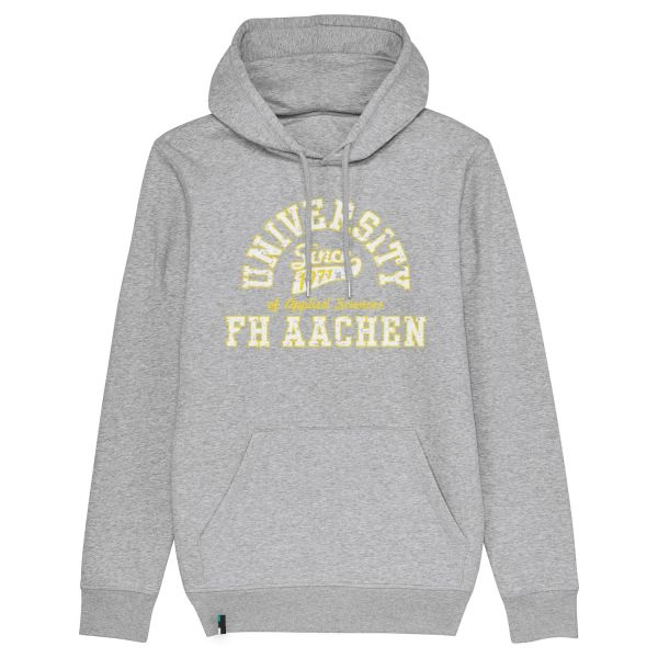 Unisex Hooded Sweatshirt, heather grey, berkley
