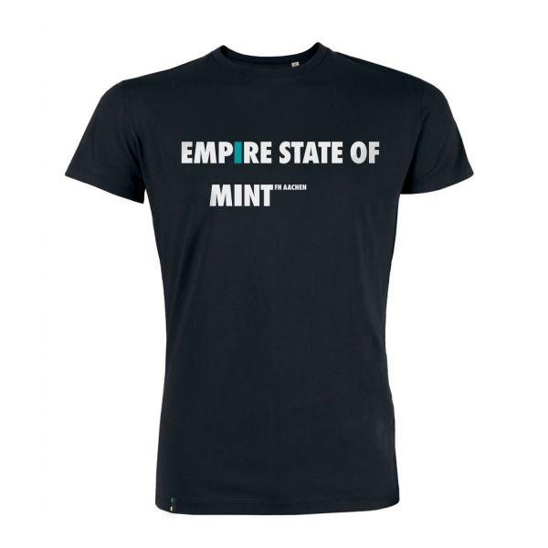 Herren T-Shirt, black, empire