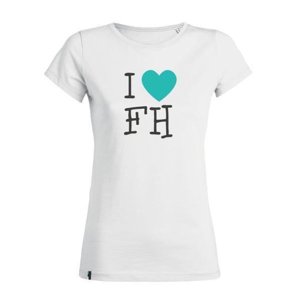Damen Organic T-Shirt, white, FH You