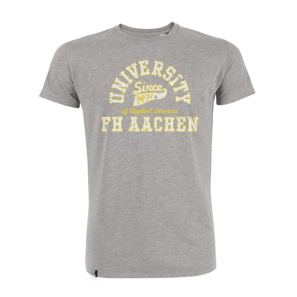 Herren T-Shirt, heather grey, berkley