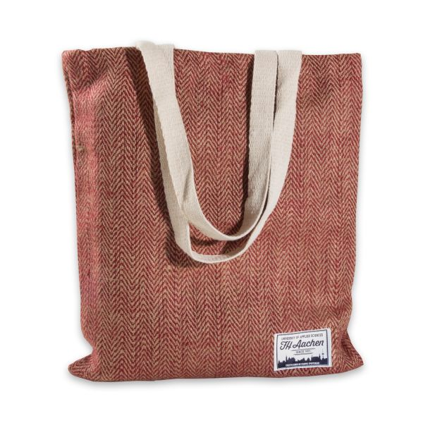 Eco Fashion Bag, red, label